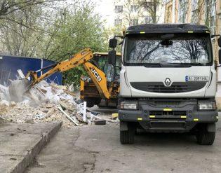 Вывоз строительного мусора в Киеве